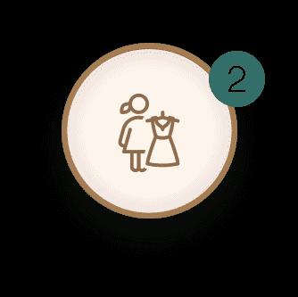 Seri Pengantin Bridal Sulam - Butik Baju Nikah Bersulam